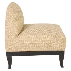 Upholstered Slipper Chair Circle Futon Raul Carrasco Furniture