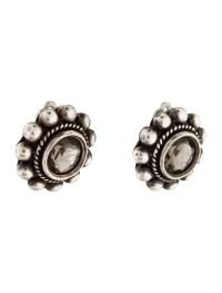 Stephen Dweck Quartz Clip On Earrings - Earrings ...