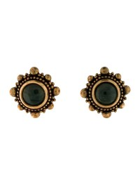 Stephen Dweck Chalcedony Clip On Earrings