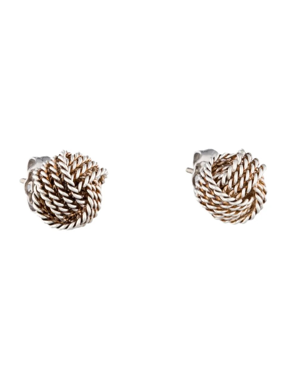 Tiffany & Co. Twist Knot Earrings