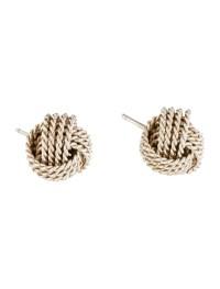 Tiffany & Co. Twist Knot Earrings - Earrings - TIF54764 ...