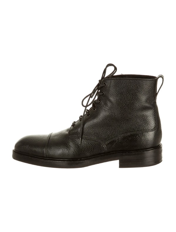 Tom Ford Men's Fur Boots