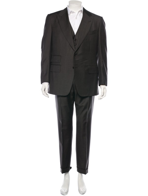 3 Piece Suit Tom Ford Men
