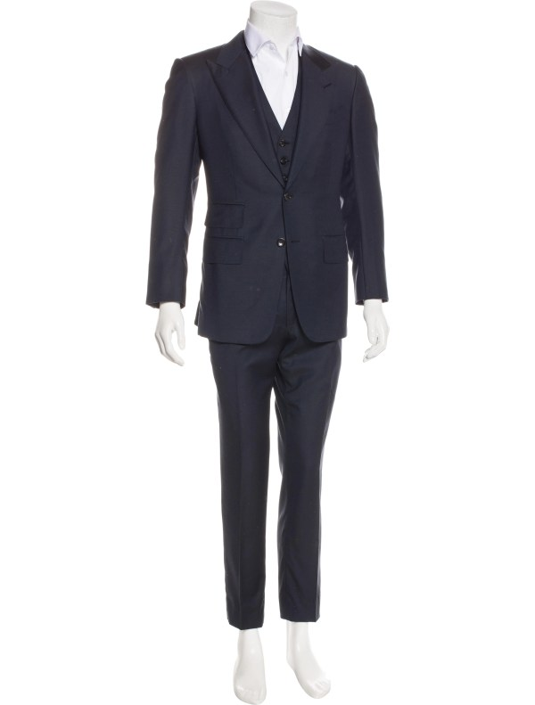 3 Piece Suit Tom Ford