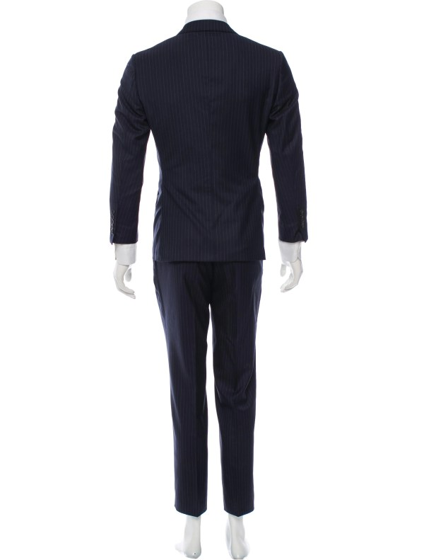 Tom Ford Wool Pinstripe Three-piece Suit - Clothing Tom35036 Realreal