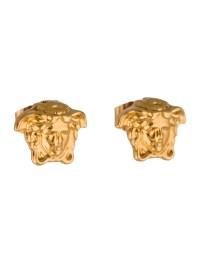 Versace Medusa Stud Earrings - Earrings - VES23811 | The ...