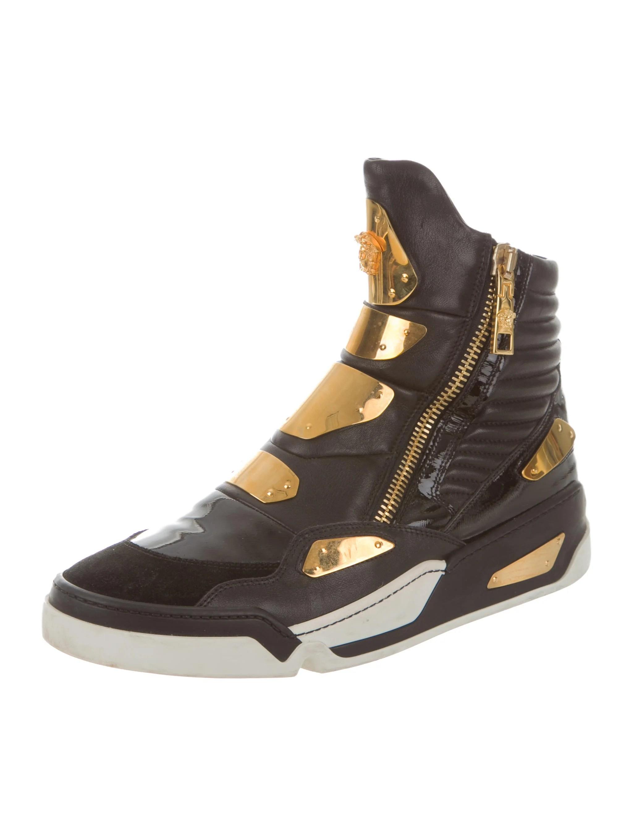Versace Medusa HighTop Sneakers  Shoes  VES27255  The