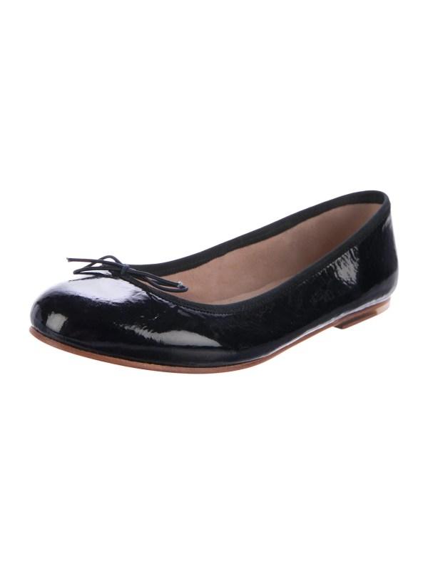 Bloch Patent Leather Ballet Flats Shoes W1620243