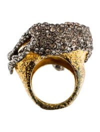 Alexis Bittar Crystal Panther Ring - Rings - WA526925 ...