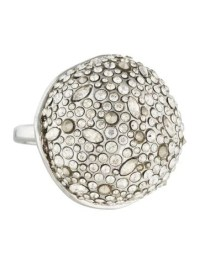 Alexis Bittar Crystal Dome Ring