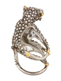 Alexis Bittar Elements Crystal Panther Ring - Rings ...
