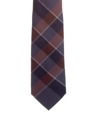 Burberry London Plaid Wool Tie - Suiting Accessories ...