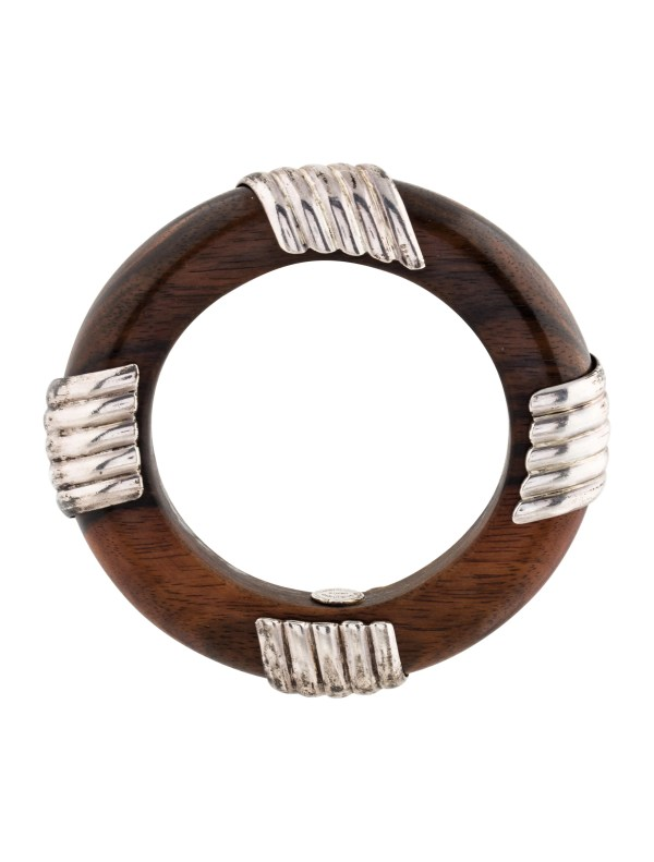 Dominique Aurientis Wood Bangle Bracelets WD920037