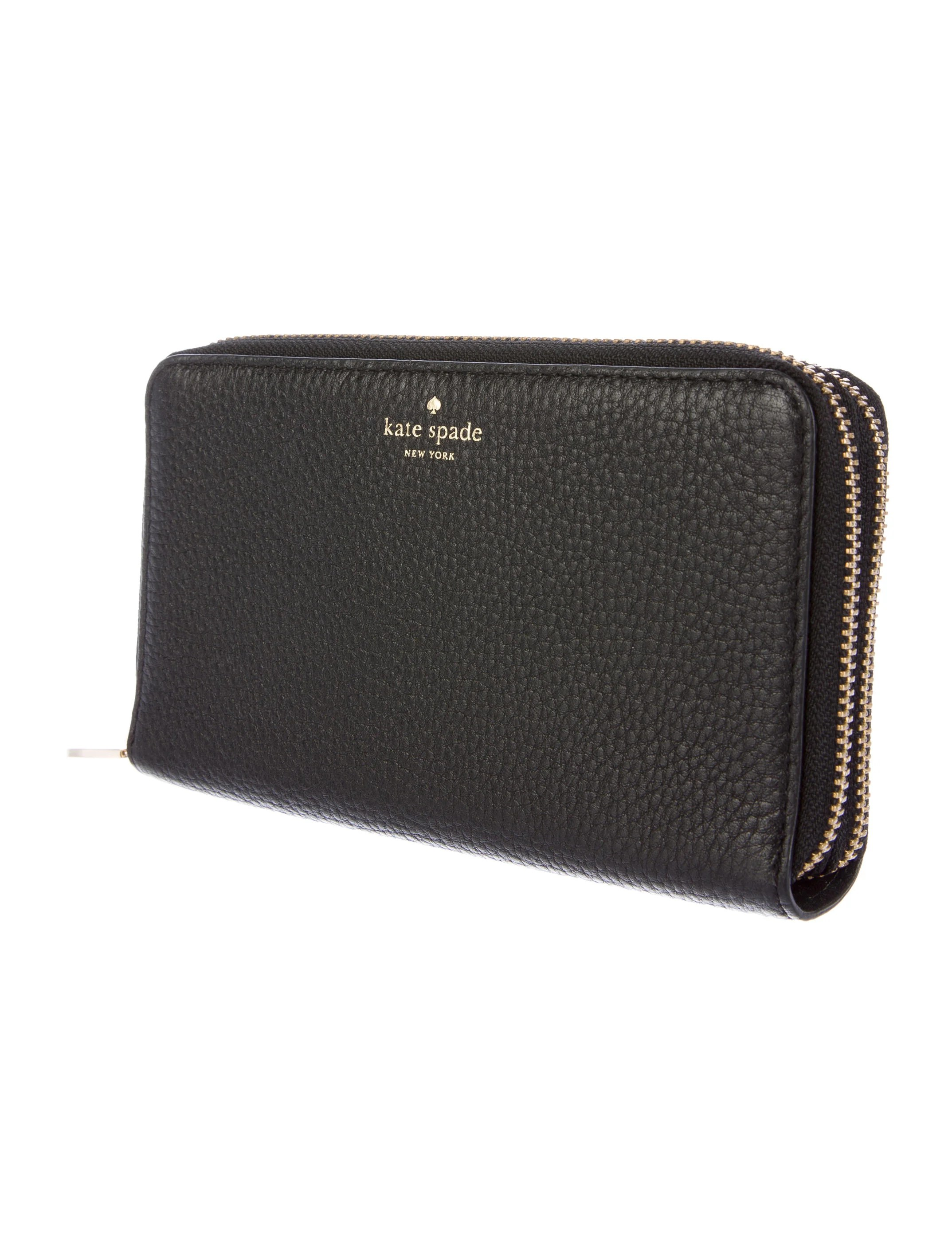 Kate Spade New York Grey Street Tiera Clutch Wallet - Handbags - WKA53182   The RealReal