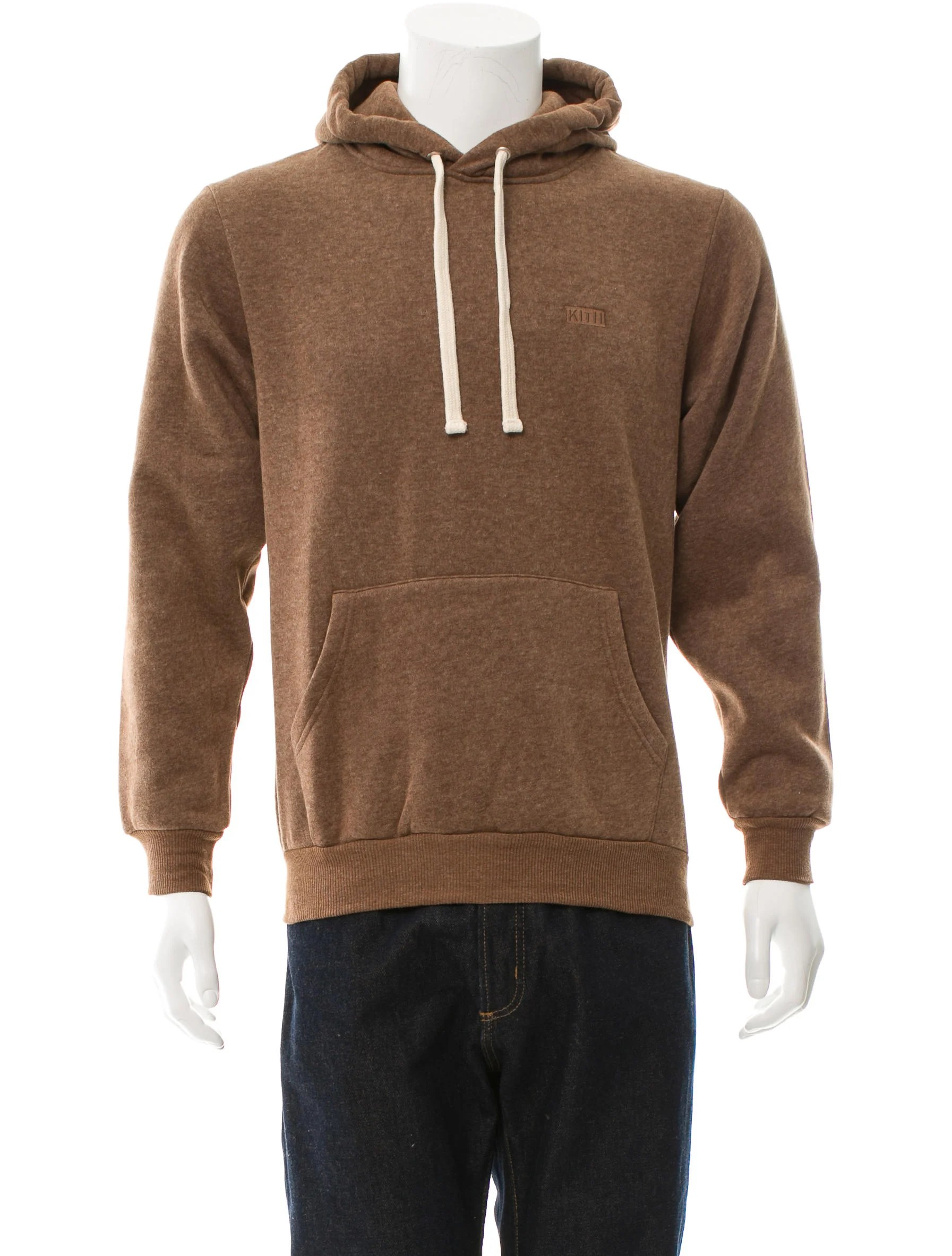 100 cotton sofas gold sofa table kith pullover drawstring hoodie w/ tags - clothing ...