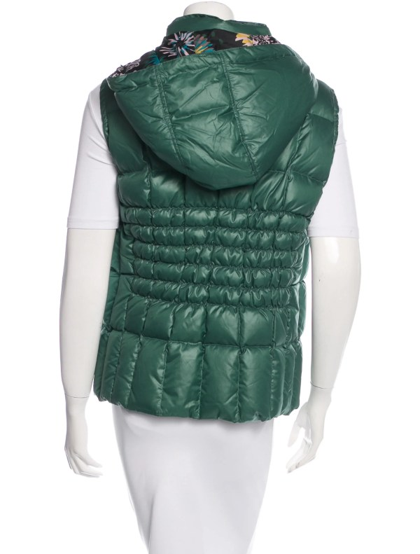 Missoni Hooded Puffer Vest - Clothing Wm434085 Realreal