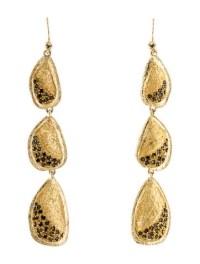 Melinda Maria Tiered Crystal Drop Earrings