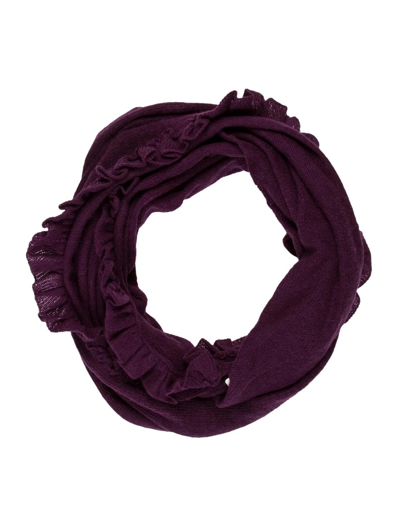 Portolano Wool Cashmere Knit Infinity Scarf