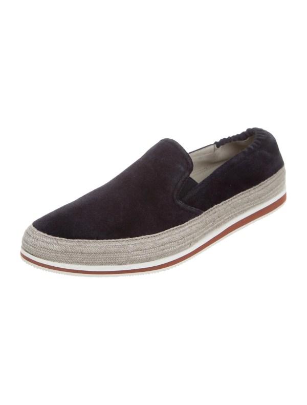 Prada Sport Suede Slip- Sneakers - Shoes Wpr39308