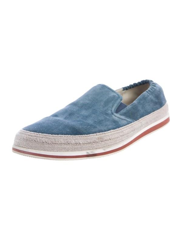 Prada Sport Suede Slip- Sneakers - Shoes Wpr40054