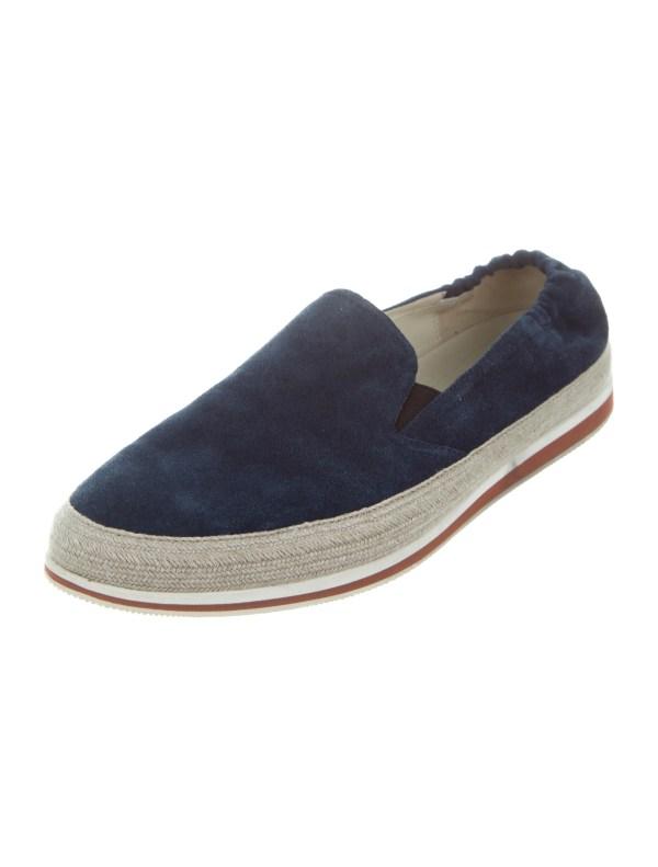 Prada Sport Suede Slip- Sneakers - Shoes Wpr42750