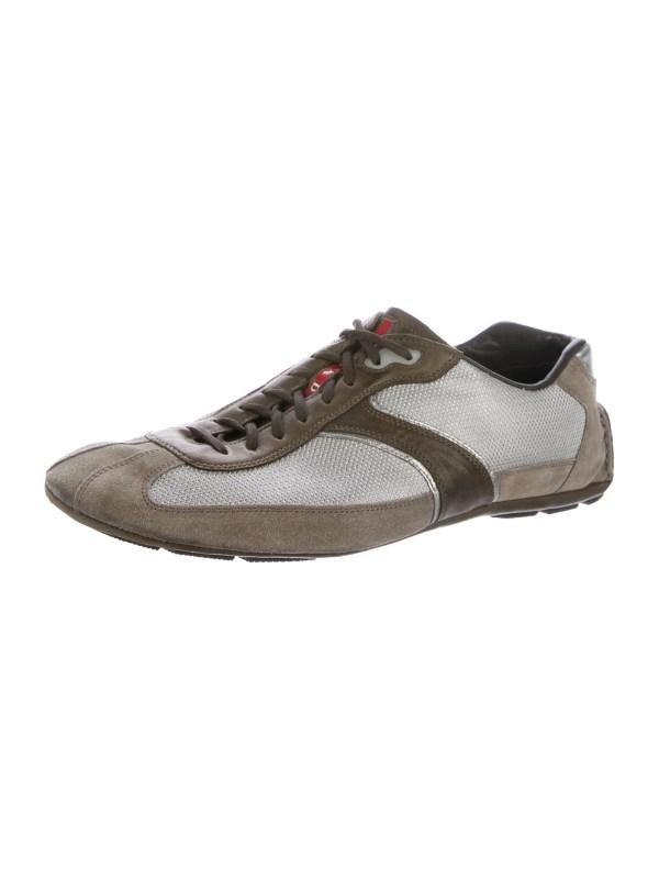 Prada Sport Suede -top Sneakers - Shoes Wpr43623