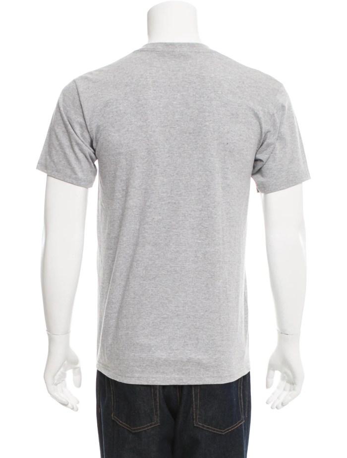 Supreme Logo Print Crew Neck T-Shirt - Clothing