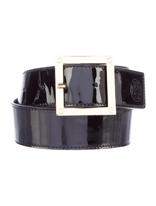 Tory Burch Patent Leather Belt - Accessories Wto91178