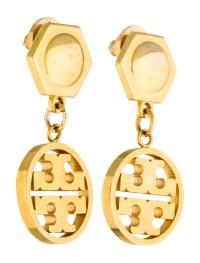 Tory Burch Logo Drop Earrings - Earrings - WTO94273   The ...