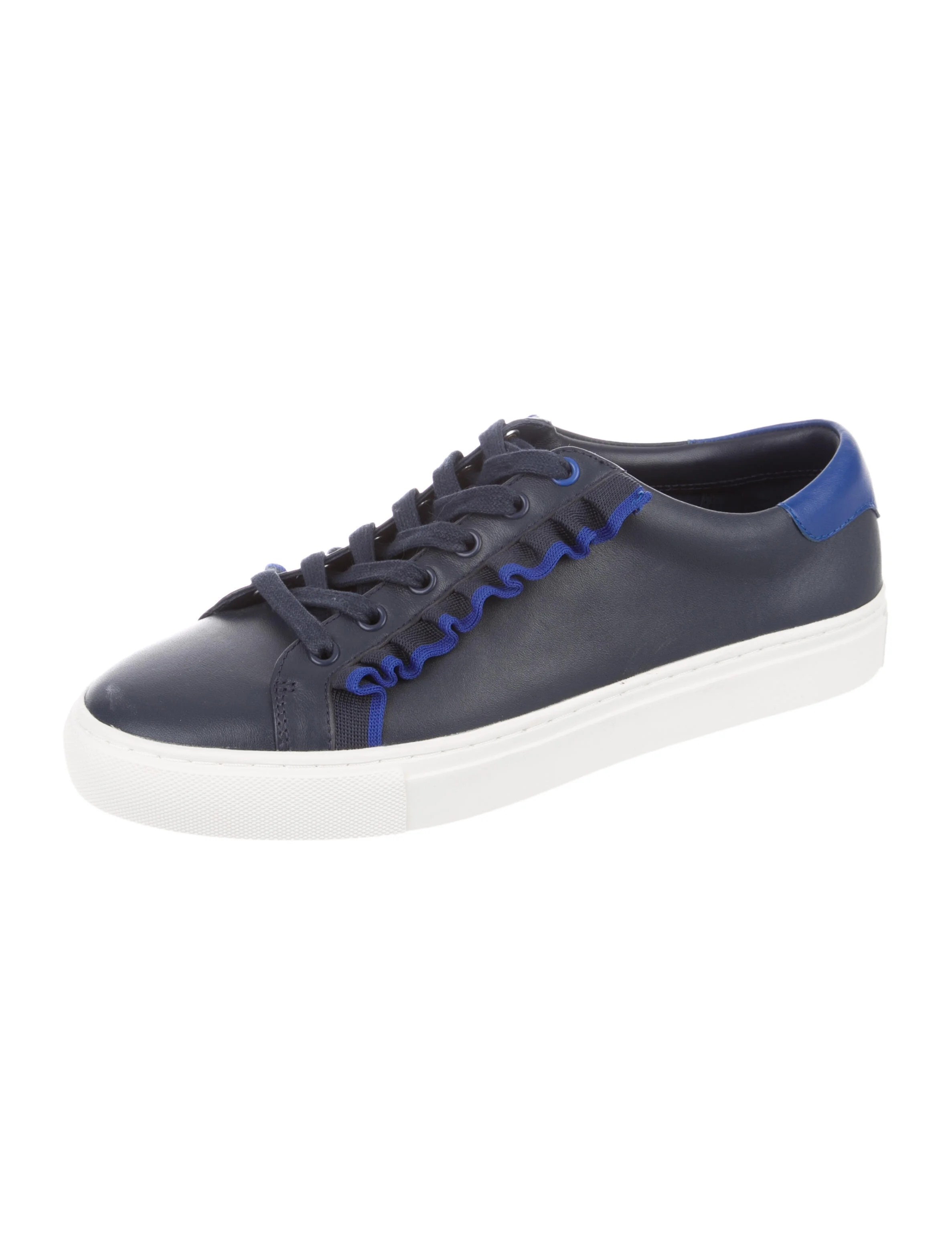 Tory Sport Low-Top Sneakers Leather Sneakers - Shoes - WTORY23655 | The RealReal
