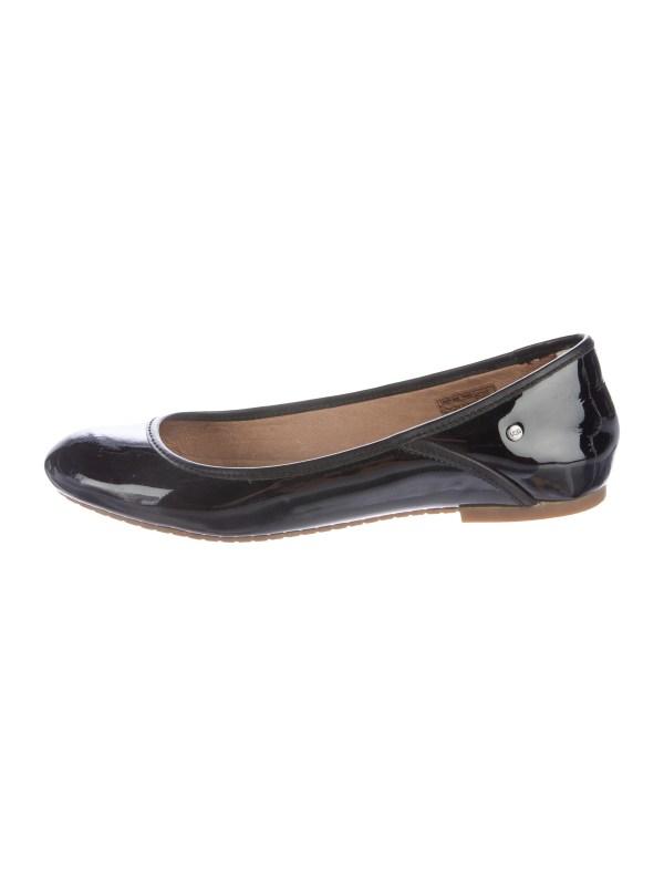 UGG Australia Patent Leather Ballet Flats Shoes