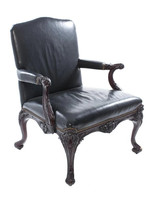 Ralph Lauren Leather Chair Furniture WYG20260 The