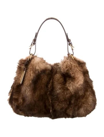 brown office chairs conference table with ralph lauren faux fur shoulder bag - handbags wyg20558   the realreal