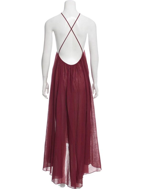 Zimmermann Tent Maxi Dress - Clothing Wzi22891 Realreal