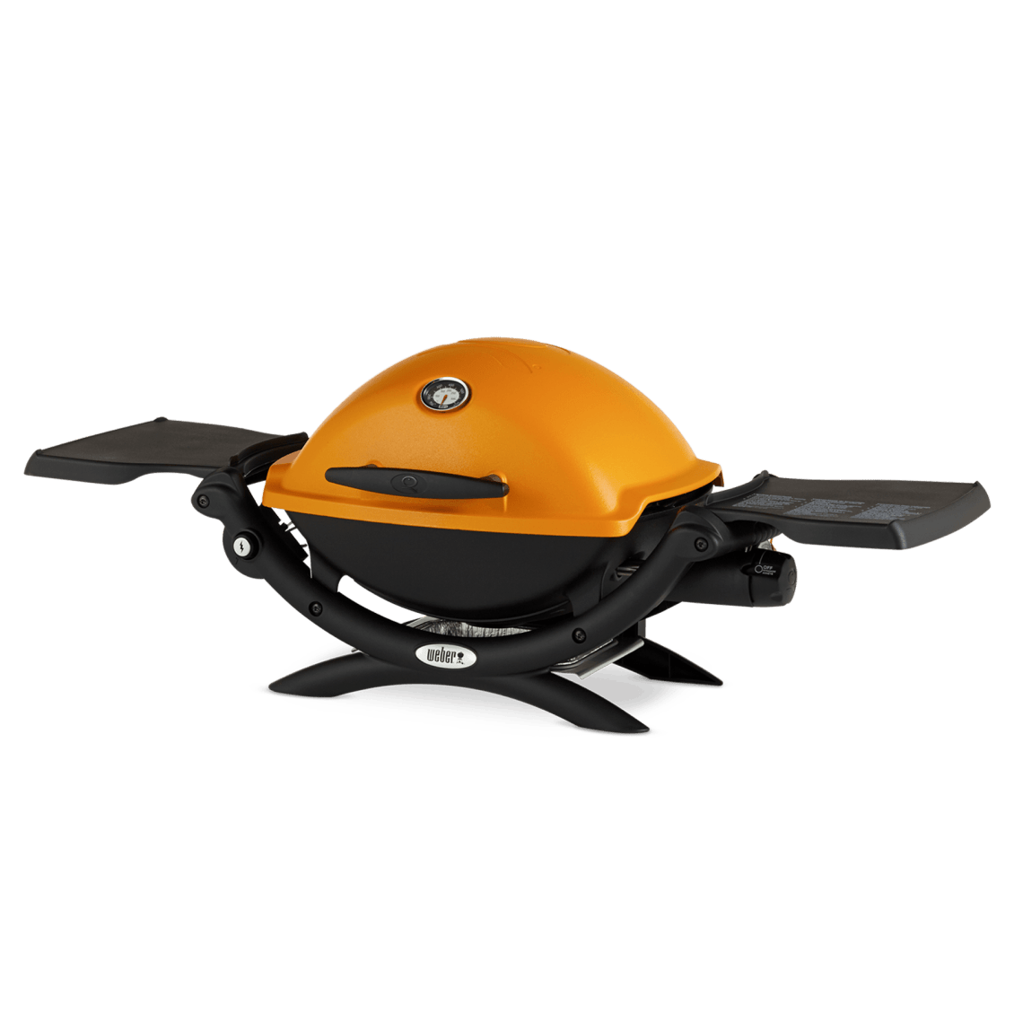 Weber® Q 1200 Gas Grill View