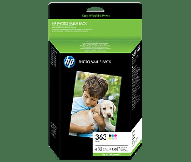 Hp 363 Series Photo Value Pack  X 15 Cm