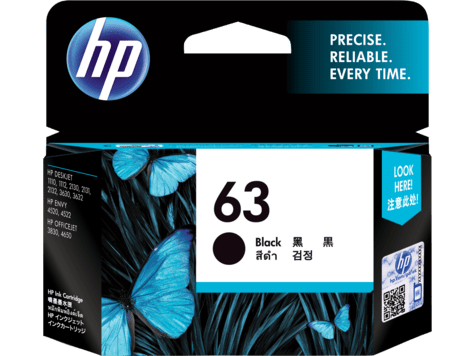 Hp 63 Black Original Ink Cartridge F6u62aa Hp 174 Australia