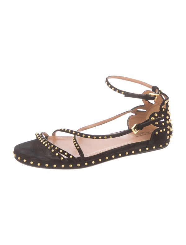Ala Studded Sandals - Shoes Al221729 Realreal