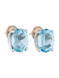 H. Stern Blue Topaz Earrings - Earrings - HST20001 | The ...