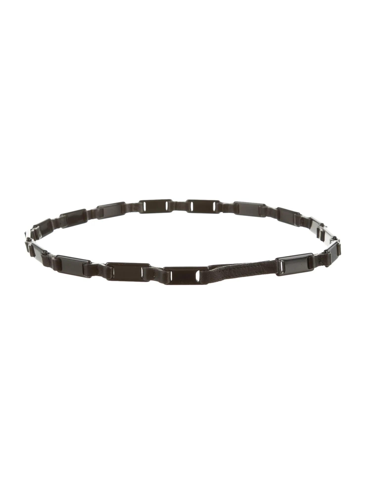 Prada Chain Link Belt
