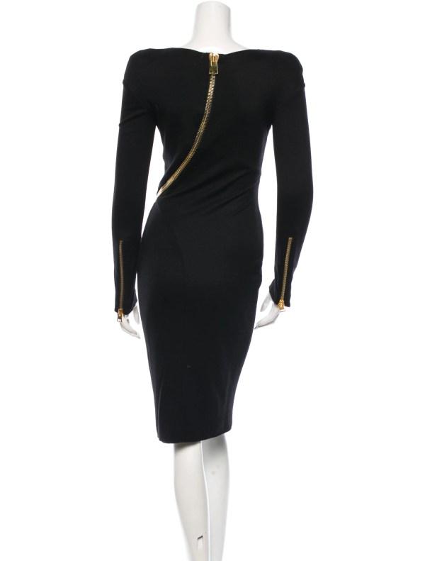 Tom Ford Midi Dress - Clothing Tom23613 Realreal