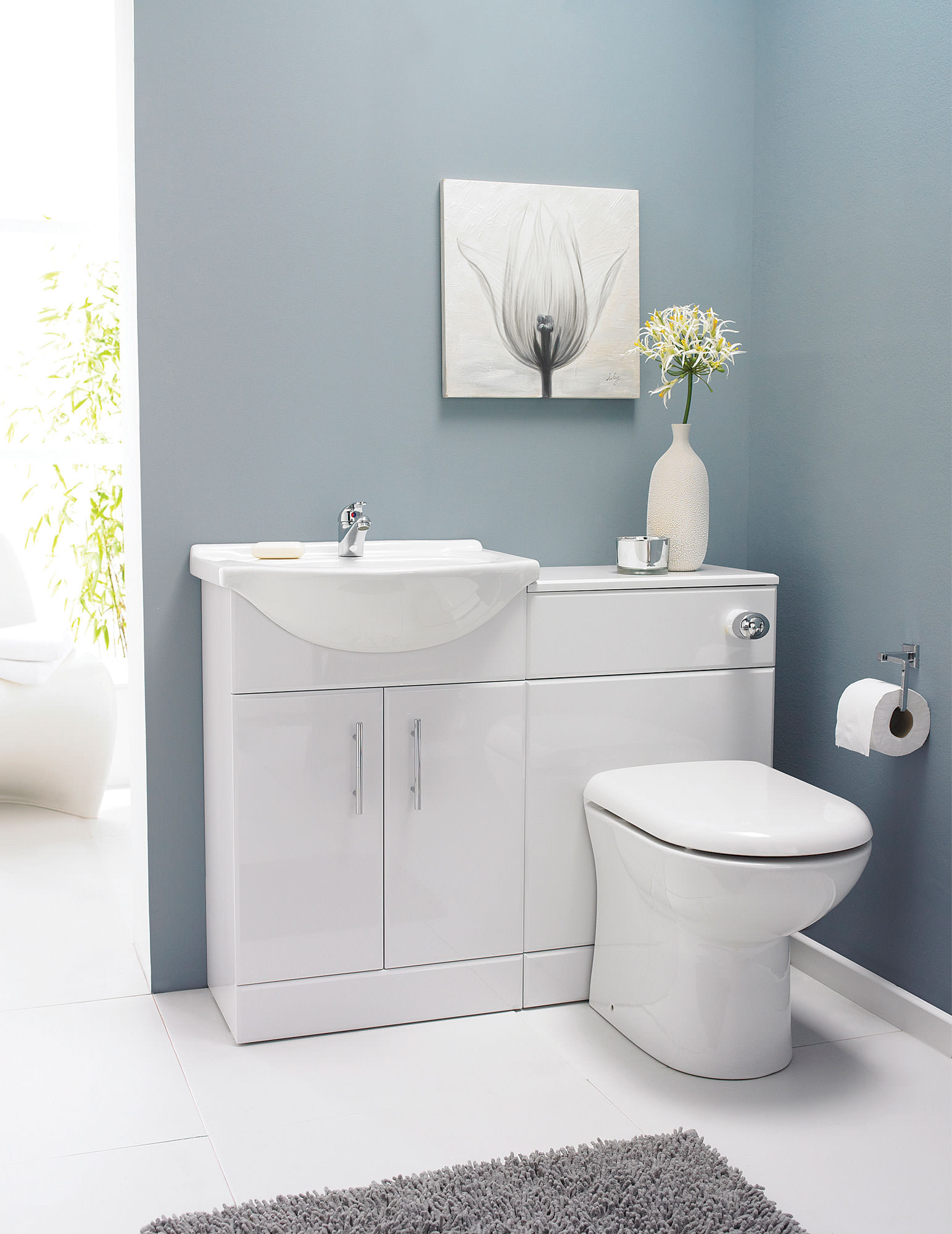 Lauren Saturn Bathroom Furniture Pack