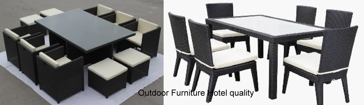 Outdoor Furniture Hotel quality