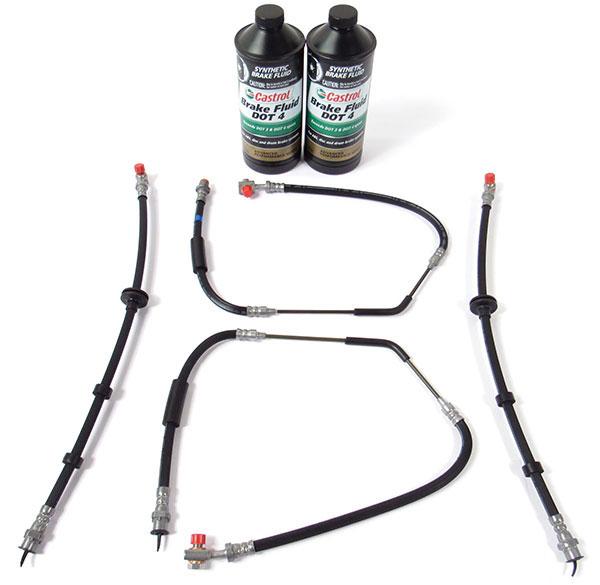 Recommended Brake Hose Kit For Full Size Range Rover