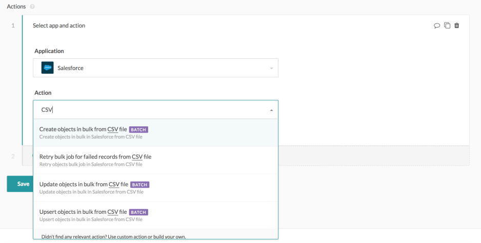 Announcing our Salesforce connector bulk actions - Workato