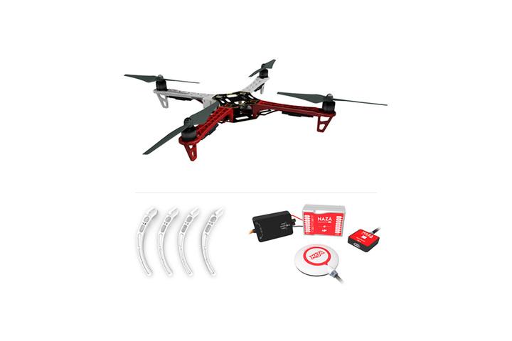 Buy F450 ARF KIT + Landing Gear + Naza-M Lite + GPS