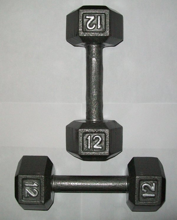 Lb. Hex Dumbbells Pair - Product8