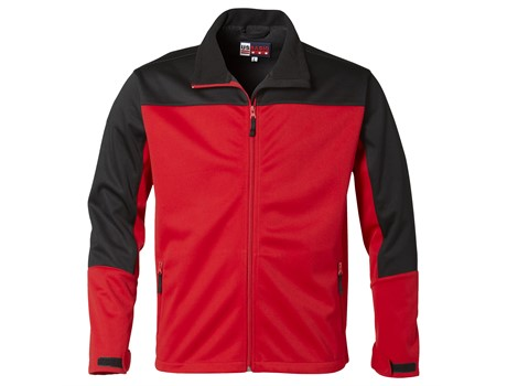 BAS-3408 US Basic Attica Mens Softshell Jacket