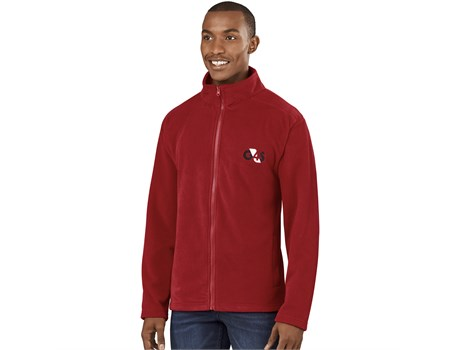 BAS-8000 US Basic Mens Yukon Micro Fleece Jacket