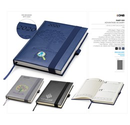 branded logo diaries for